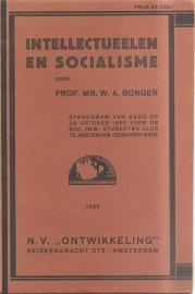 "Bonger, W.A: ""Intellectueelen en socialisme"""