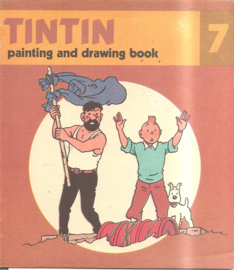 Kuifje: Tintin painting and drawing boook 07