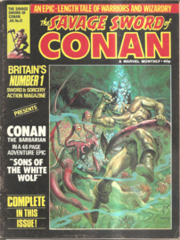 Conan: the savage sword of -