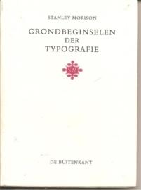 "Morison, Stanley: ""Grondbeginselen der Typografie""."