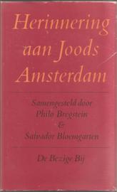 Bregstein, Philo en Bloemgarten, Salvador: Herinnering aan Joods Amsterdam