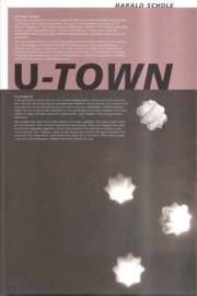 """Schole, Harald: """"U-Town"""""""