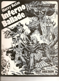 """Oberon Zwartwit Reeks 45: """"Inferno Ballade""""."""