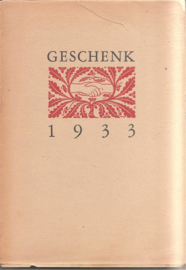 Boekenweekgeschenk 1933