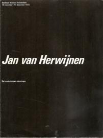 Catalogus Stedelijk Museum 532: Jan van Herwijnen.