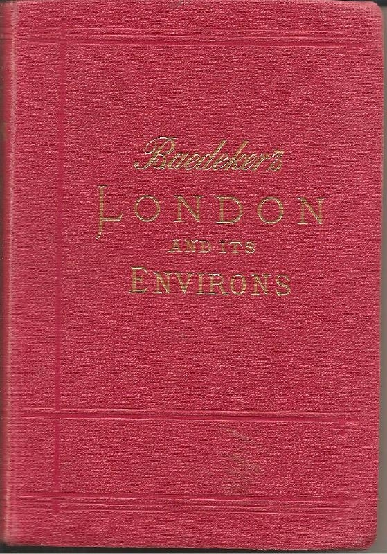Baedeker's LONDON and its environment. (1906)