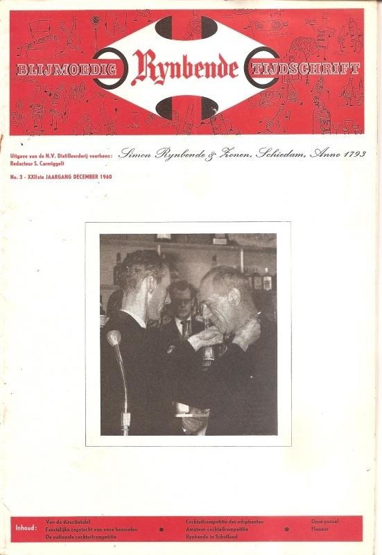 Blijmoedig Rijnbende Tijdschrift; december 1960