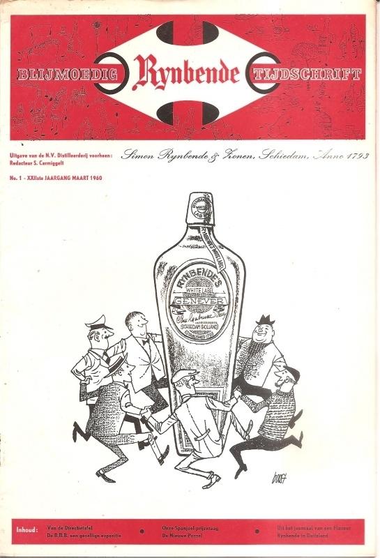 Blijmoedig Rijnbende Tijdschrift; maart 1960