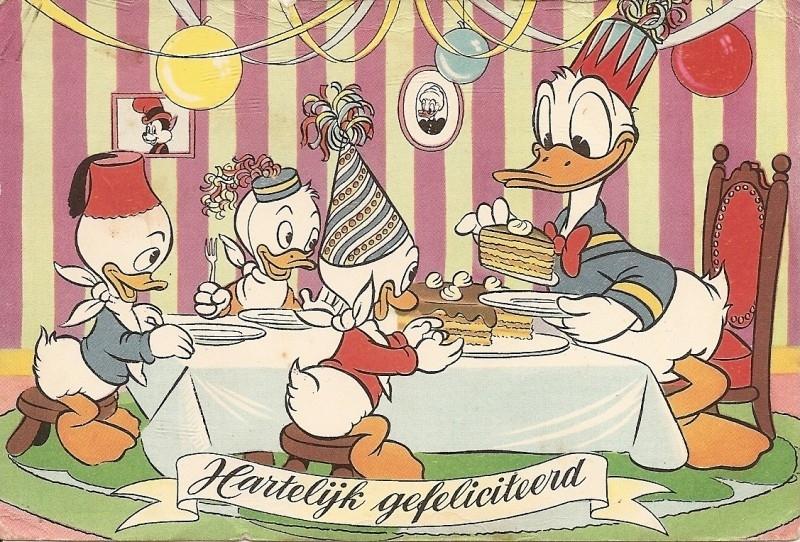 Donald en neefjes: Hartelijk gefeliciteerd