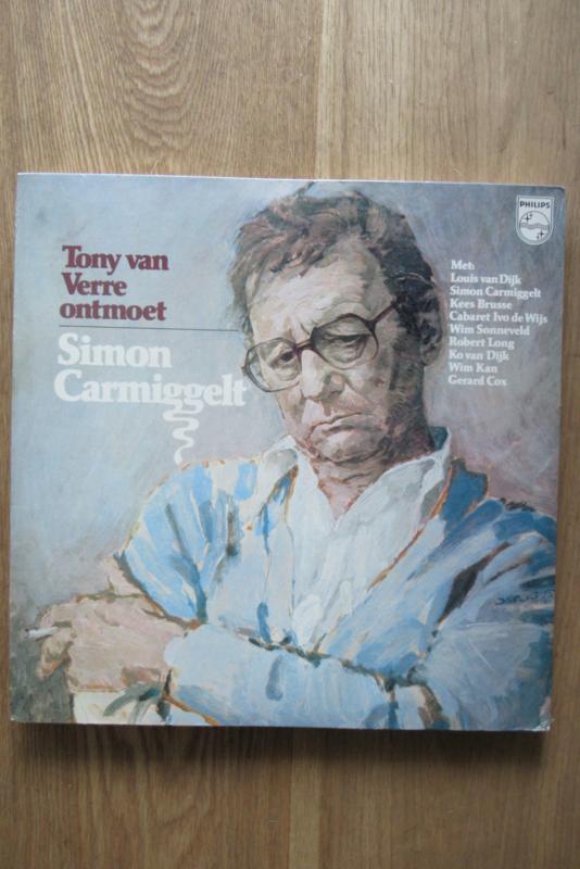 Tony van Verre ontmoet Simon Carmiggelt (boek en plaat)