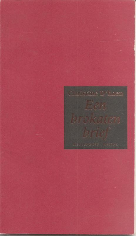 D'haen, Christine: Een brokaten brief
