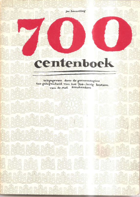 700 centenboek