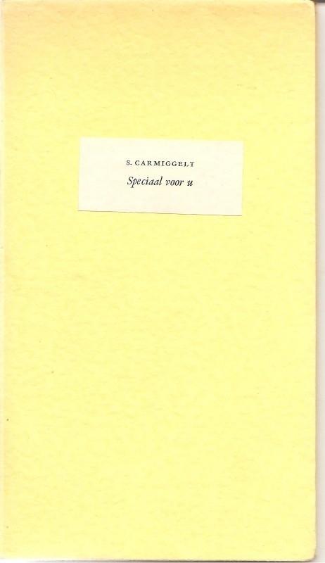 """Speciaal voor U 1959 (""""Een geschenk van het Dagblad voor Amersfoort"""")"""