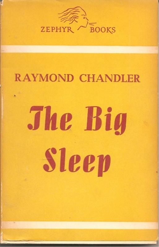 "Chandler, Raymond: ""The big sleep""."