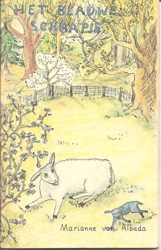Albeda, Marianne van: Het blauwe schaapje