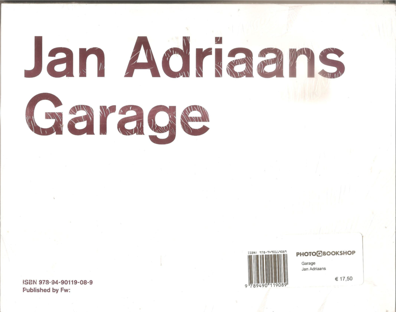 Adriaans, Jan: Garage