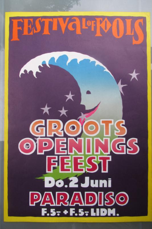 Fesival of Fools 1977 Groots Openings Festijn Paradiso