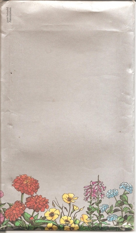 Bloemetjeslezing (kompleet in bijbehorende envelop)