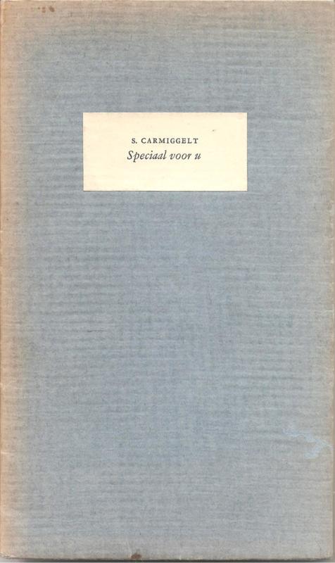Speciaal voor U 1954 (gesgneerd, met opdrachtje)
