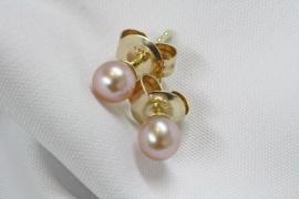 Perles Rose en Or