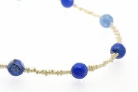 Collier Blauwe Vuuragaat