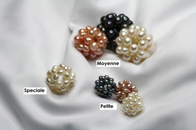 Perle en Bouton
