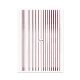 Moyra Nail Art Strips 03 Rose Gold