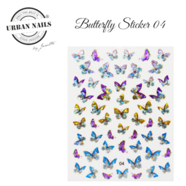 Urban Nails Butterfly Stickers 04
