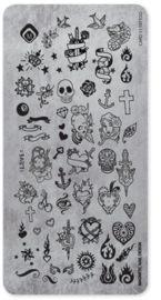 Magnetic Stamping Tatto  118614 Card 11