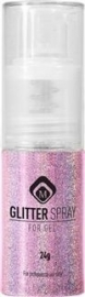 Glitter Spray Hologram Pink