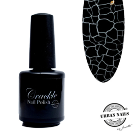 Crackle Nail Polish 02 black