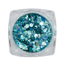 Magnetic Metal inlay Blue 118937