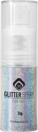 Glitter Spray Hologram silver 118057