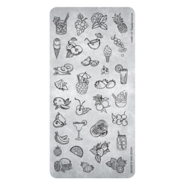 Magnetic Stamping Plate Tequila Sunrije 37 1 pcs. 118640