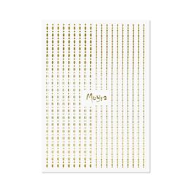 Moyra Nail Art Strips Dots No. 01 Gold