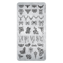 Magnetic stempel plaat  31 Masquerade  118634