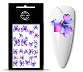 Waterdecals Flower Garden 04