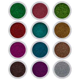 Magnetic Glitter Mix Spring 12 pcs 118902