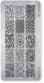 Magnetic Stamping Plate Art Hippie Summer 118617 Card 14
