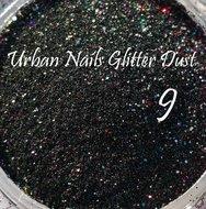 Glitter Dust  09 Zwart