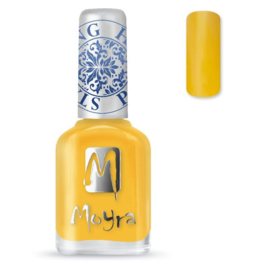 Moyra Stamping Nail Polish Yellow sp12