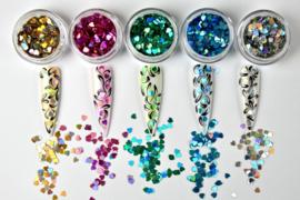 L O V I N G H E A R T S C O L L E C T I O N van Urban nails 5 kleuren