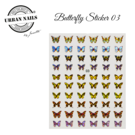 Urban Nails Butterfly Stickers 03