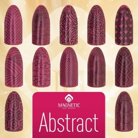 Magnetic   Stempel platen  Abstract  1  pcs.