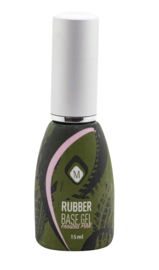 Magnetic Rubber Base Frosted Pink  in flesje 15 ml 104402