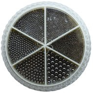 Urban Wheel Caviar Beads Sterling Black