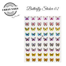 Urban Nails Butterfly Stickers 02