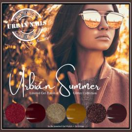 Be Jeweled by Urban Urbian Summer Gel Polish 3x  & Glitter Collection 2x 3 gram