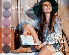 Be Jeweled by Urban Boho Chic Collection Gelpolish 6 kleuren in een kit.  Ook los verkrijgbaar! 219 t/m 224