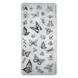 Magnetic Stamping Plate 28 Insects & Bugs 118631